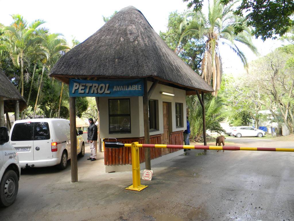 The Pont petrol pump