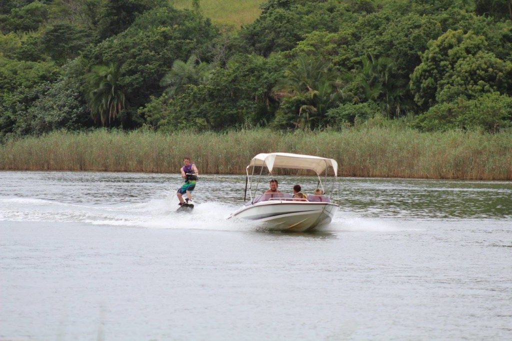 Water sports on the Umtamvuna