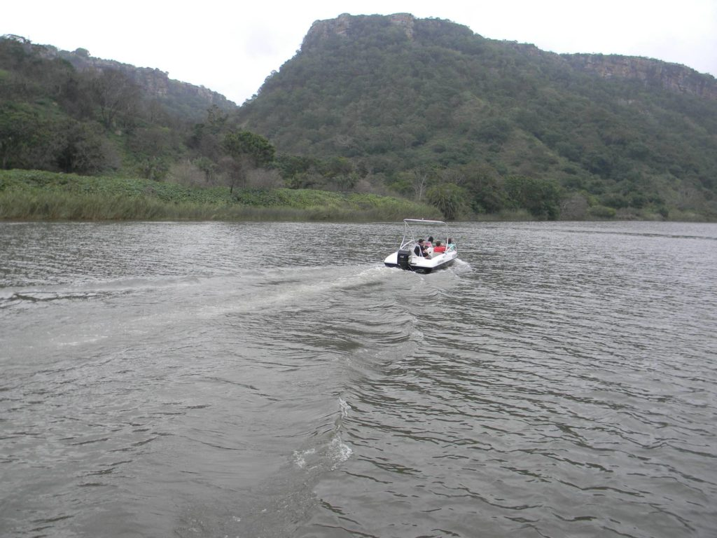 Boating on the Umtamvuna
